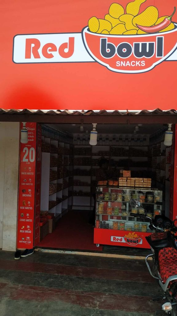 Red Bowl Snacks – Peelamedu, Coimbatore